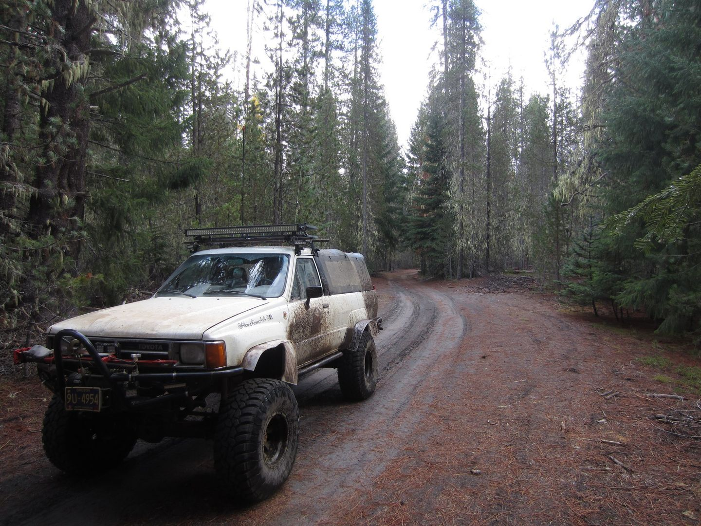 Barlow Trail - Waypoint 30: Continue Straight