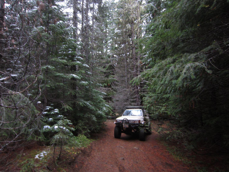 Barlow Trail - Waypoint 40: Grindstone Campground