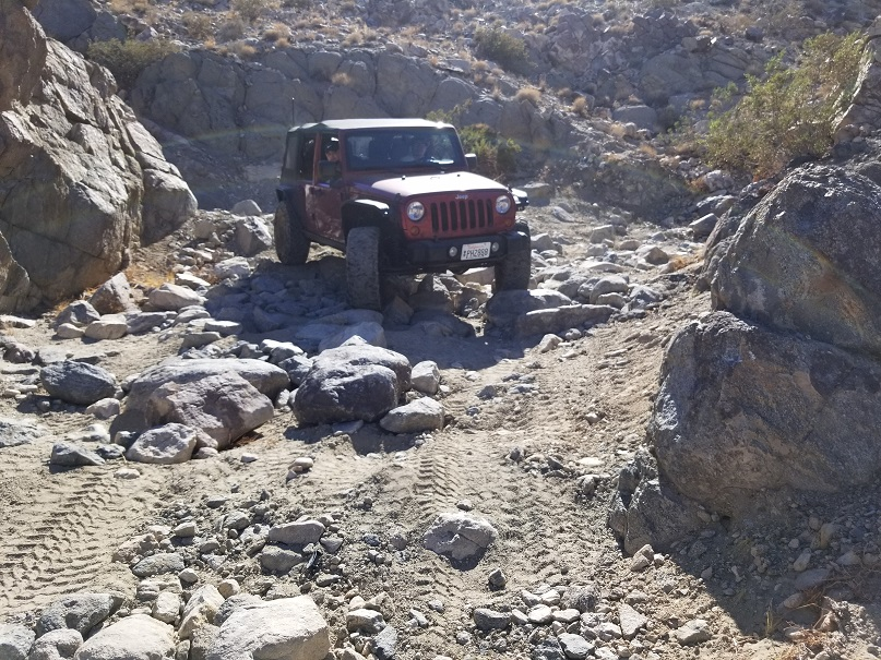 SOS - Johnson Valley - Waypoint 1: Trailhead SOS
