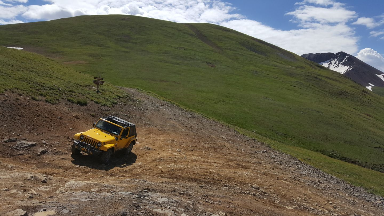 Engineer Pass - Waypoint 12: Switchback to Summit