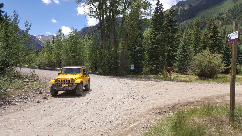 Engineer Pass - Waypoint 28: Unknown Trail