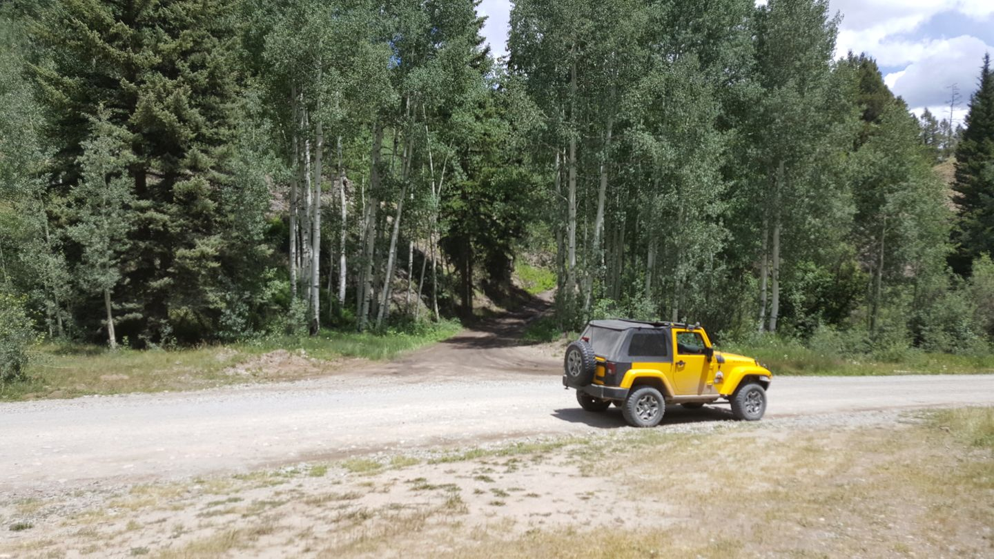 Engineer Pass - Waypoint 29: Intersection with North Henson (CR 24)