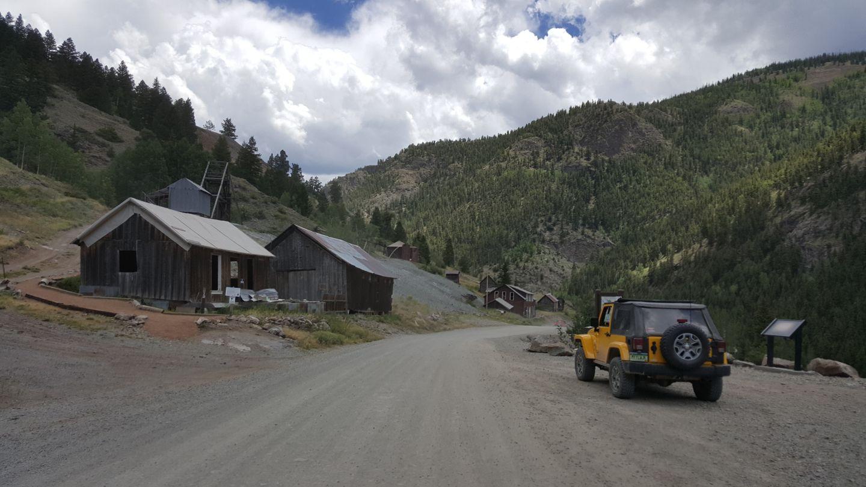 Engineer Pass - Waypoint 31: Hard Tack Mine & Overlook