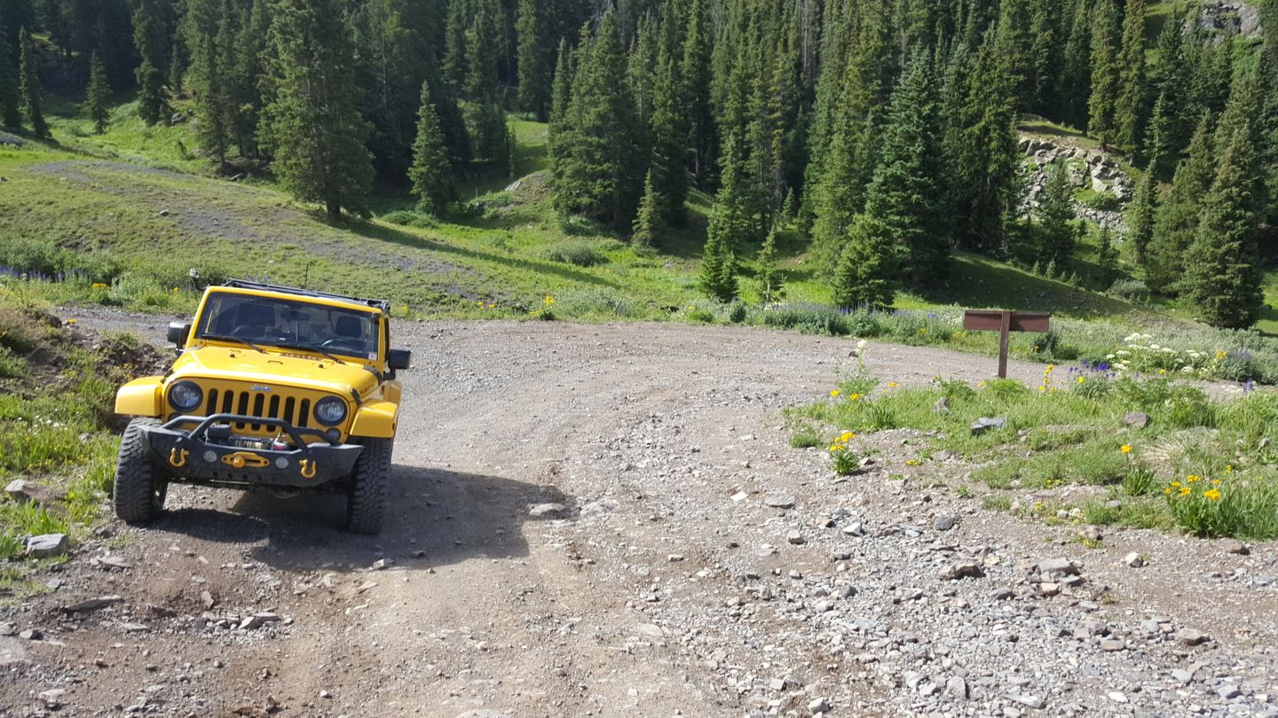 Engineer Pass - Waypoint 9: Intersection with CR 18
