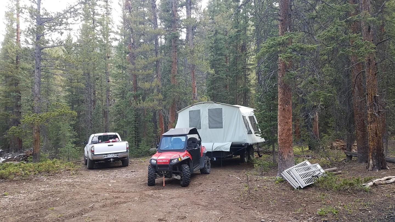 Camping: Georgia Pass