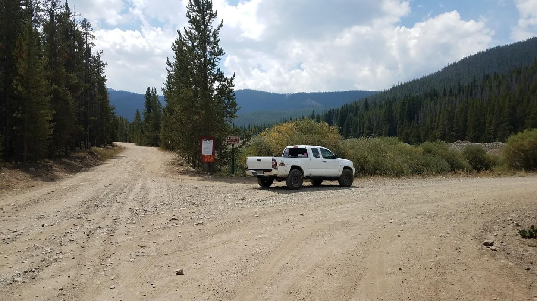 Georgia Pass - Waypoint 1: North Trailhead
