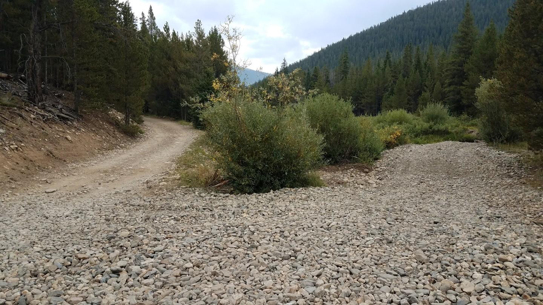 Georgia Pass - Waypoint 4: Camping Fork 1 of 3