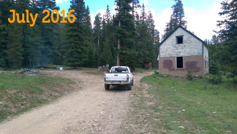 Georgia Pass - Waypoint 5: Former Home Site - NO CAMPING!