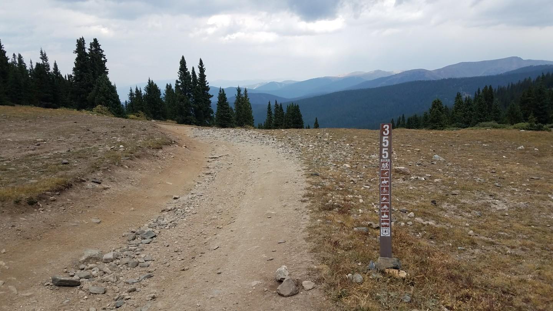 Georgia Pass - Waypoint 16: Summit