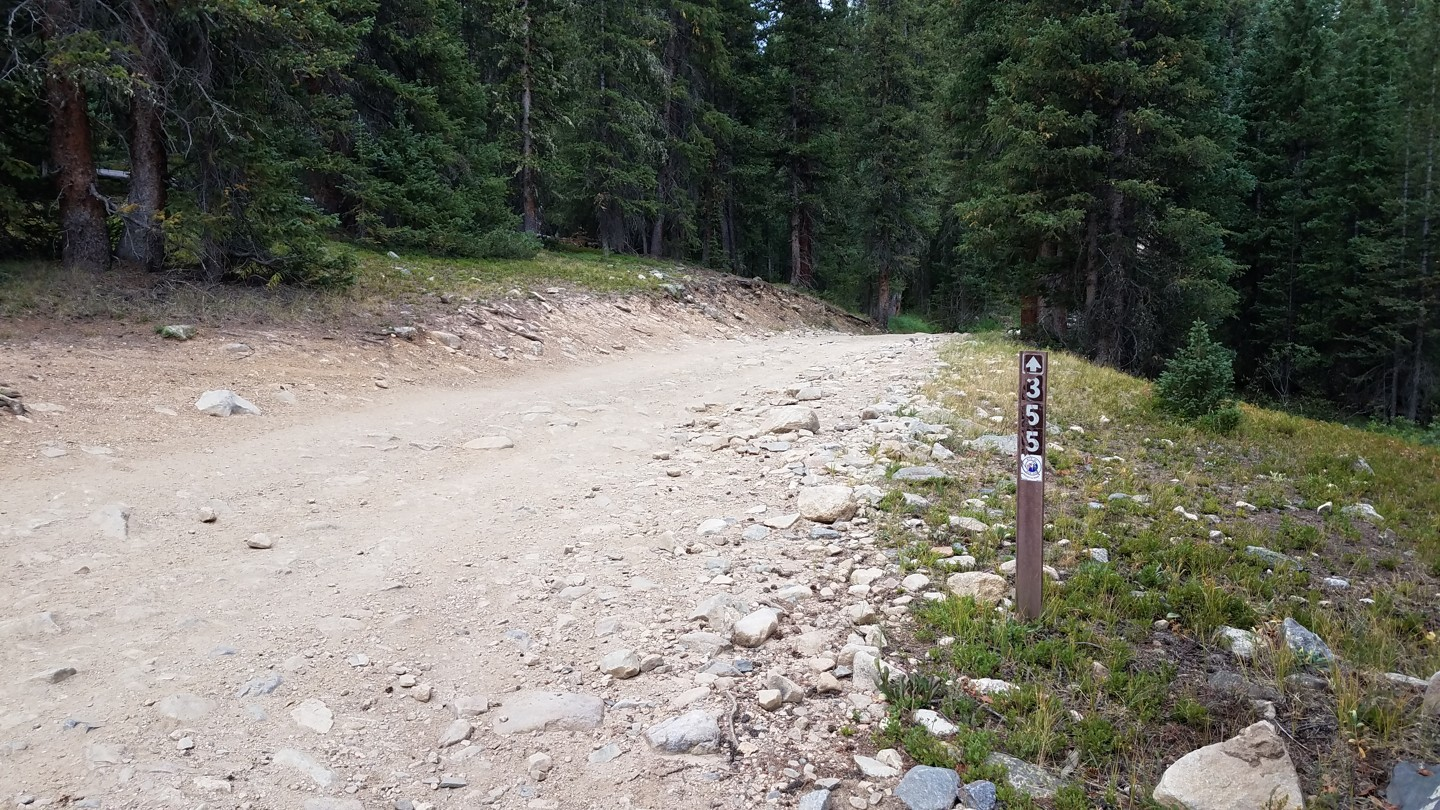 Georgia Pass - Waypoint 7: Fork - Stay Right