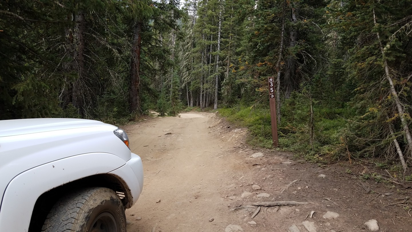 Georgia Pass - Waypoint 12: Fork - Stay Left