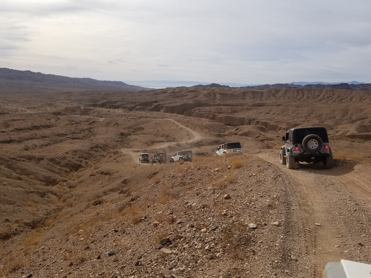 Highlight: 661202 - Red Canyon Drop In Trail - Chuckwalla Mountains