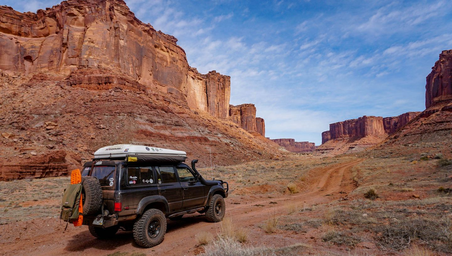 Highlight: Mineral Canyon Road