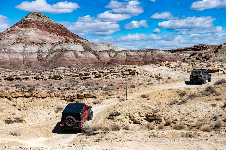 Highlight: Crystal Geyser Jeep Trail