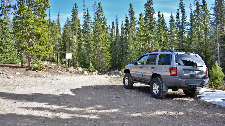 Green Ridge Trail - Waypoint 1: Trailhead Green Ridge Trail
