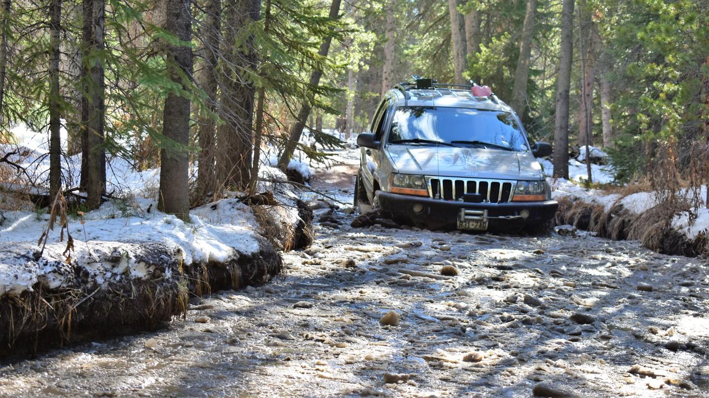 Green Ridge Trail - Waypoint 10: Watering Hole