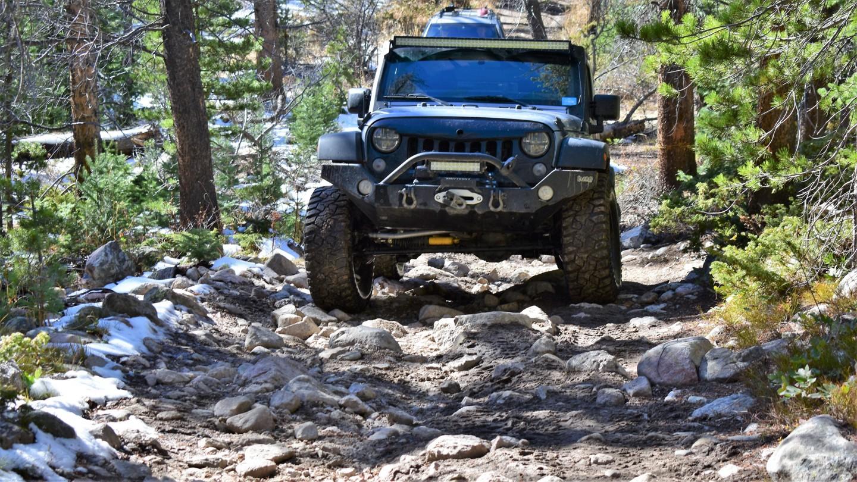 Green Ridge Trail - Waypoint 9: Rocky Climb