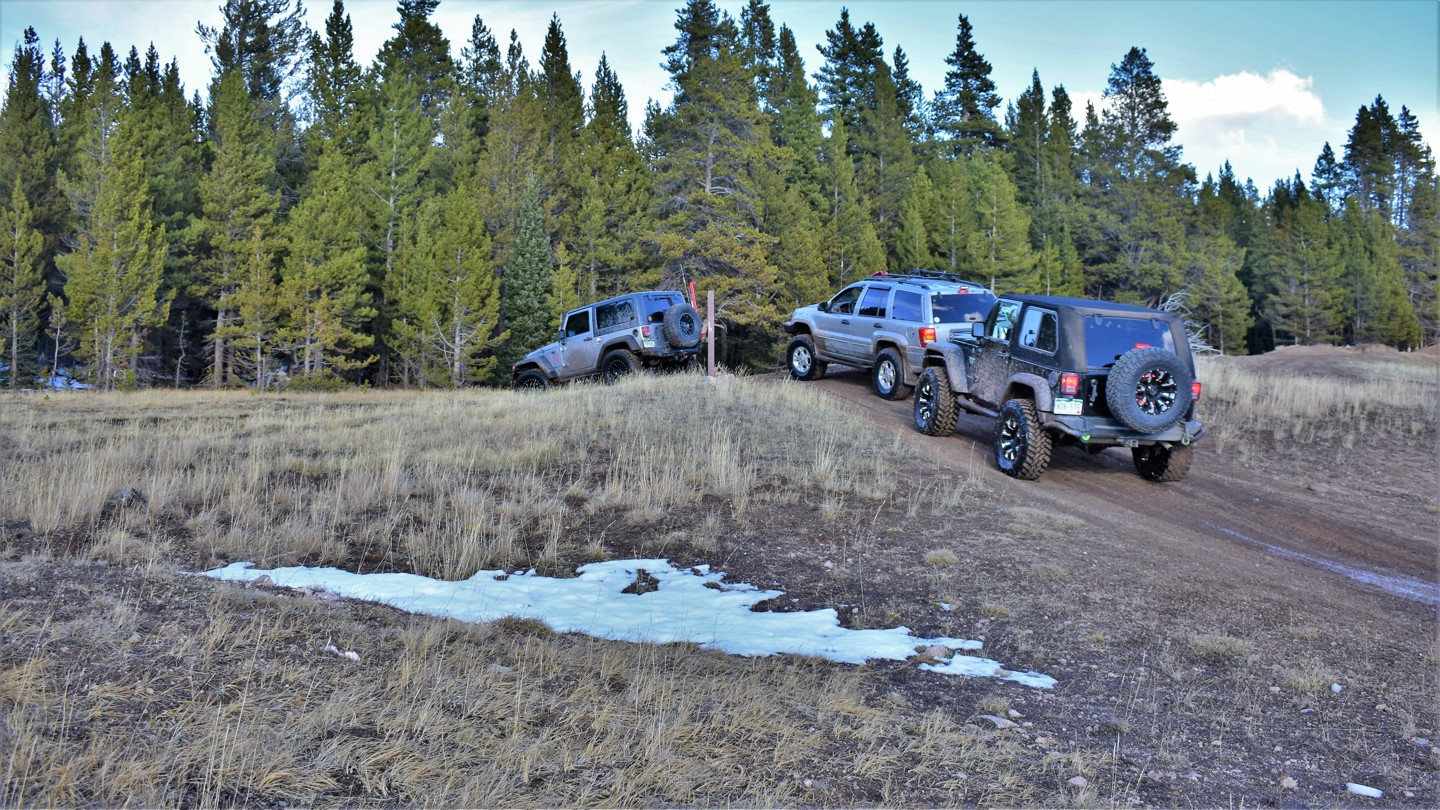 Green Ridge Trail - Waypoint 12: Trail Ends at Bald Mountain Road
