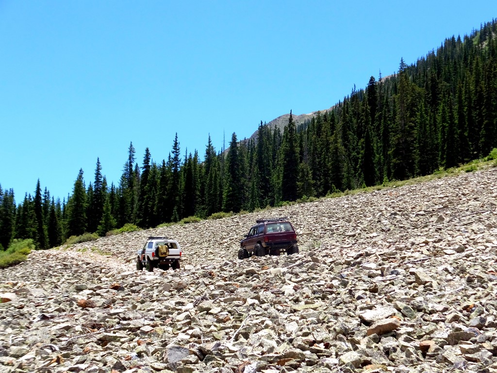 Grizzly Lake - Waypoint 5: Cross Shale Rock Field