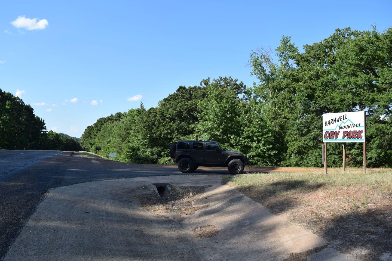 Barnwell Mountain Recreation Area: Main Road - Texas ...