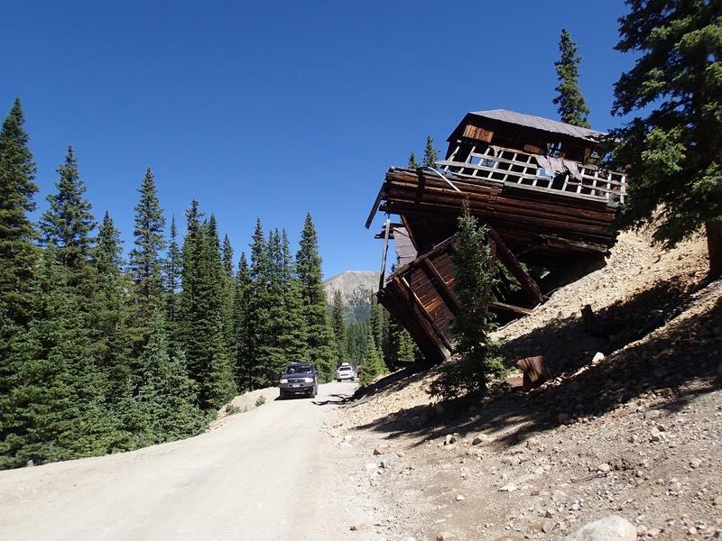 Alpine Tunnel East - Waypoint 6: Allie Belle Mine