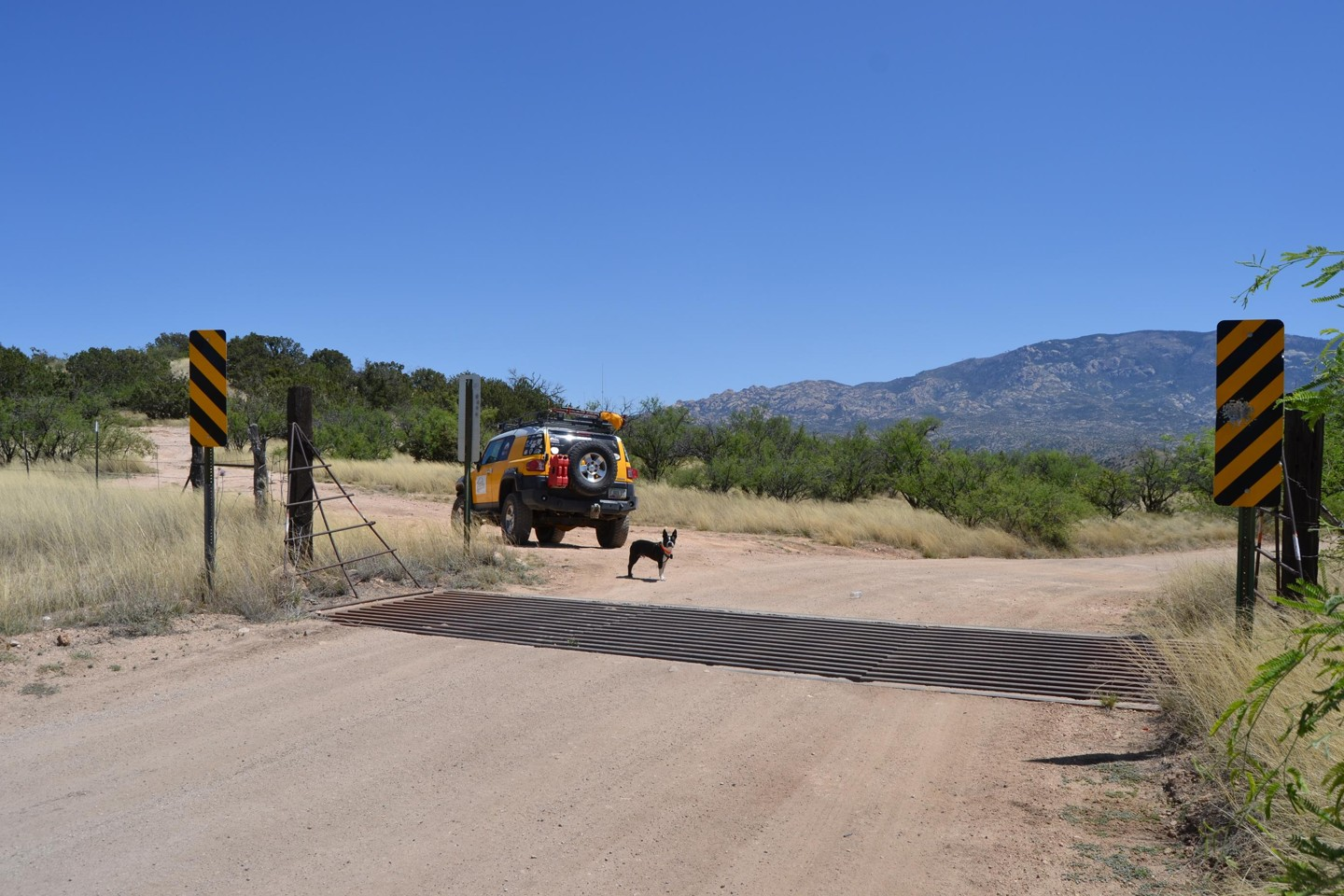 Redington Pass - Waypoint 18: Hilltop Campsite #2 Turn Off/Cattle Guard (Stay Right)