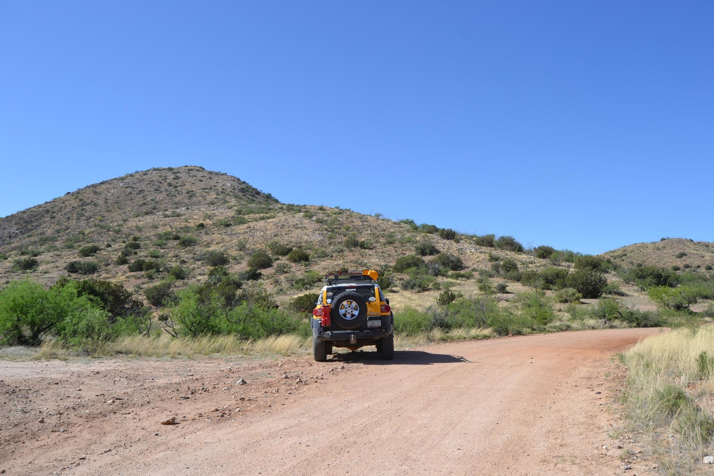 Redington Pass - Waypoint 36: Camp Spot #12 Unmarked Road Piety Hill Overlook (Out and Back)