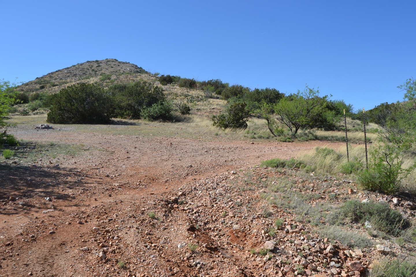 Redington Pass - Waypoint 37: Camp Spot #13  Un-numbered Road East Face Piety Hill   (Stay Right)