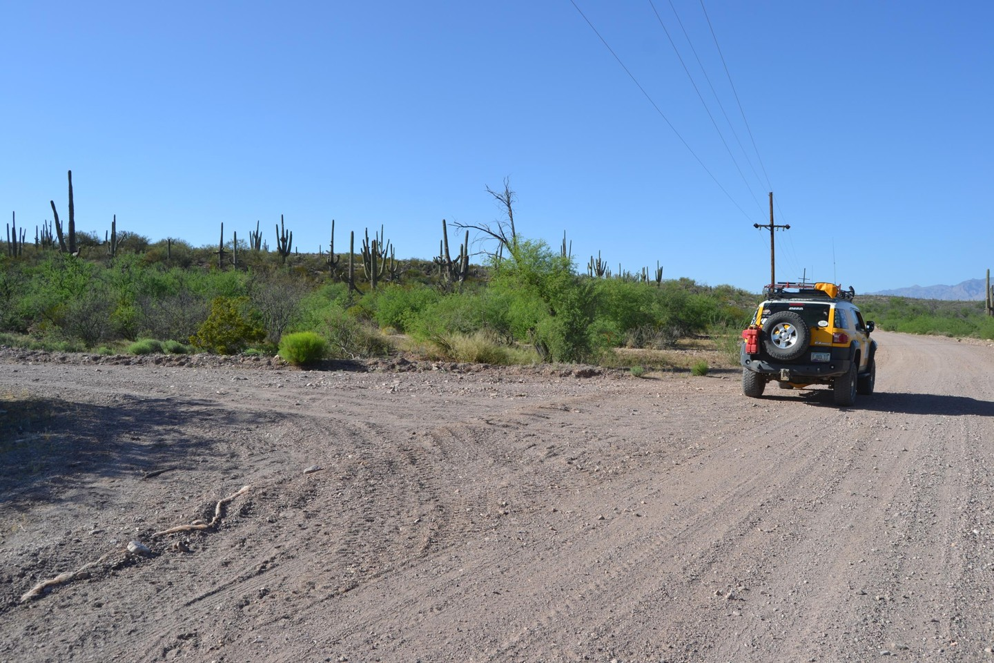 Redington Pass - Waypoint 48: Unknown Two-Track Road 4x4 to West (Stay Right)