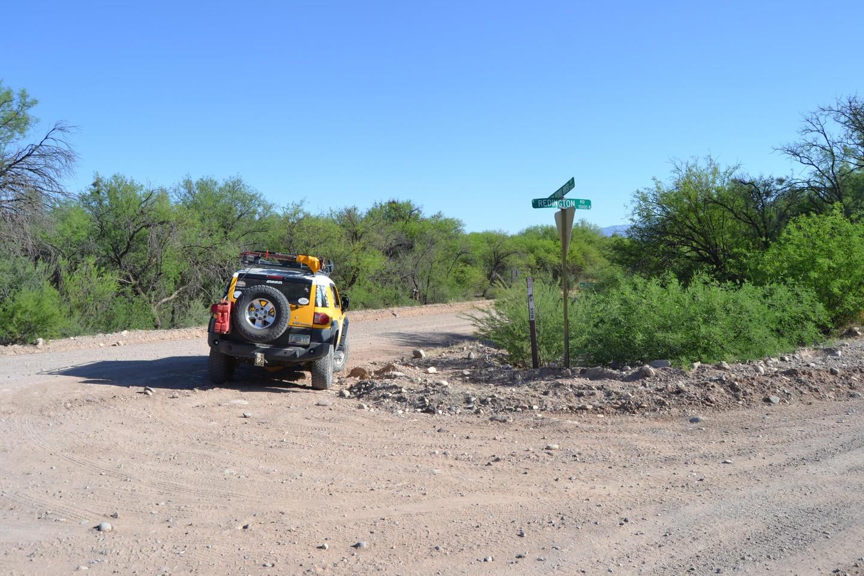 Redington Pass - Waypoint 51: End of Redington Road (San Pedro Road)
