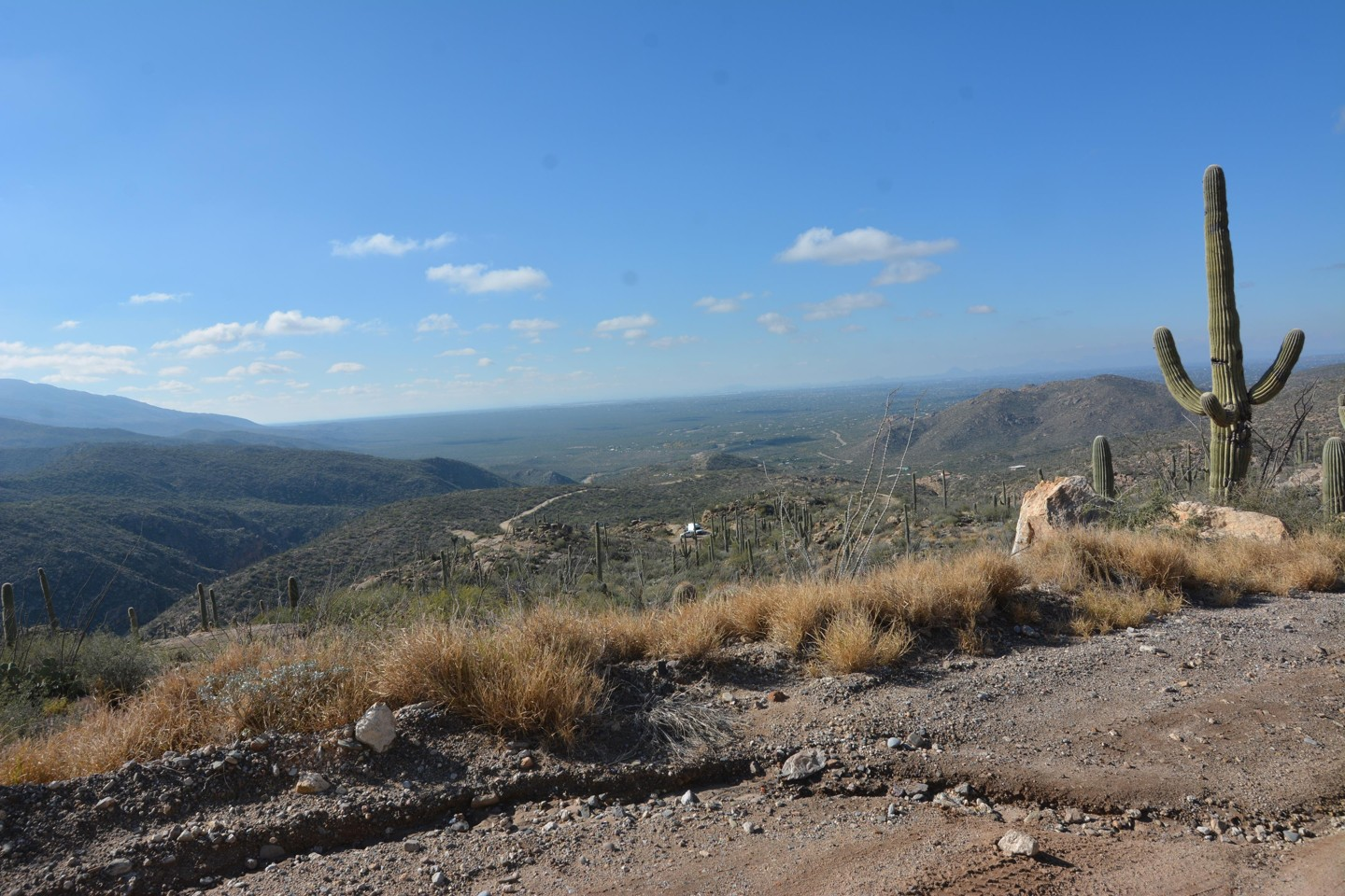 Redington Pass - Waypoint 9: Top of Switchbacks (No parking - Continue Straight)