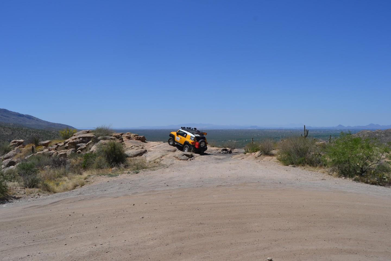 Redington Pass - Waypoint 8: Sunset Rock (Stay Left)