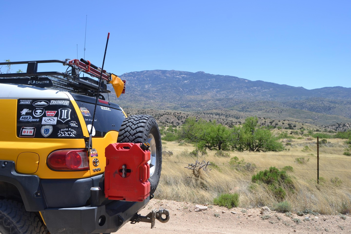Redington Pass - Waypoint 12: Chiva Falls Viewpoint (Look South Continue Straight)