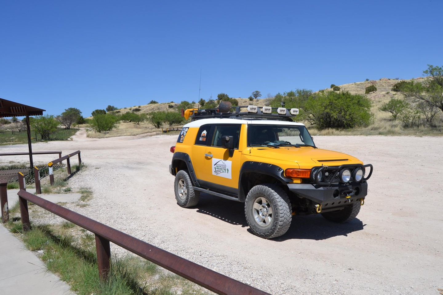 Redington Pass - Waypoint 15: Alambre Staging Area (Stay Right)