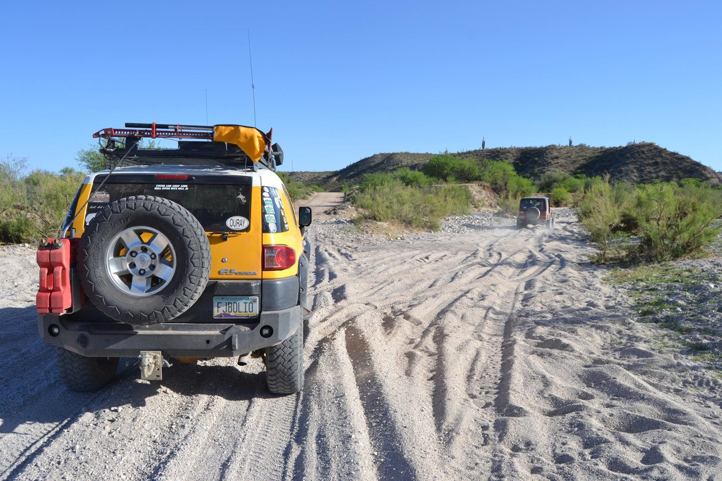 Redington Pass - Waypoint 47: Road to Buehman Canyon (Stay Right)