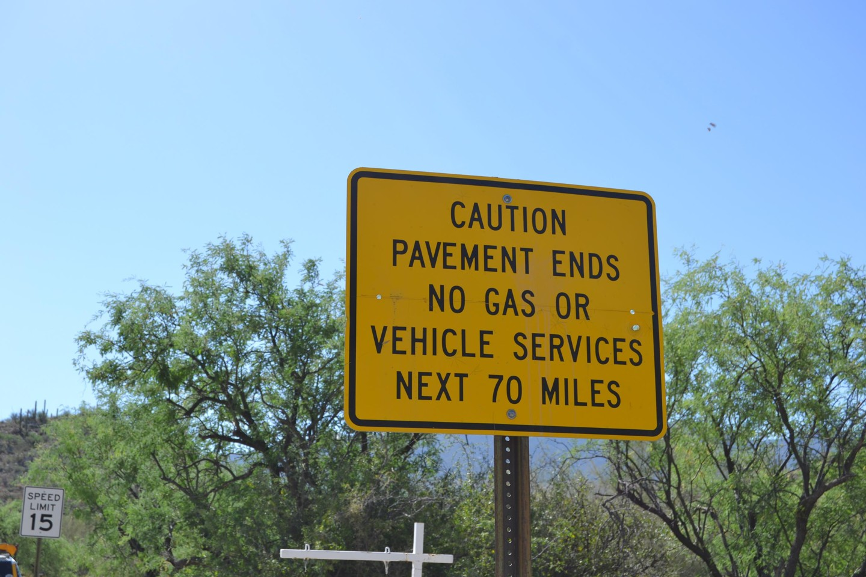 Redington Pass - Waypoint 2: Canyon Del Salto Creek Crossing (Paved)
