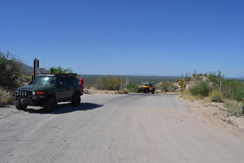 Redington Pass - Waypoint 3: Forest Border/Cattle Guard