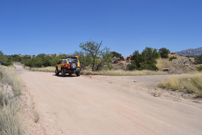 Redington Pass - Waypoint 23: Camp Spot #5 (Stay Left)