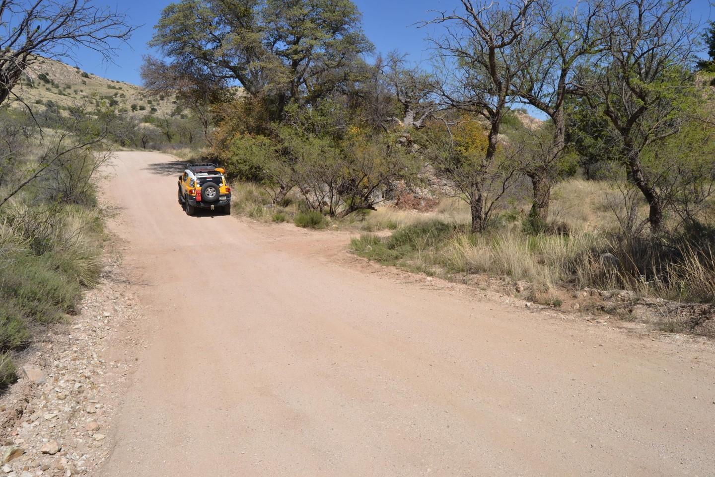 Redington Pass - Waypoint 26: Camp Spot #7  (Stay Left)