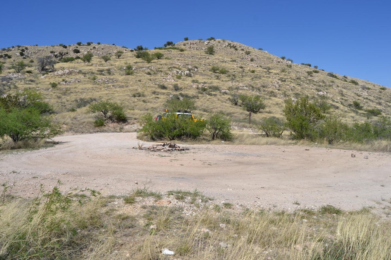 Redington Pass - Waypoint 28: Camp Spot #8 (Stay Left)