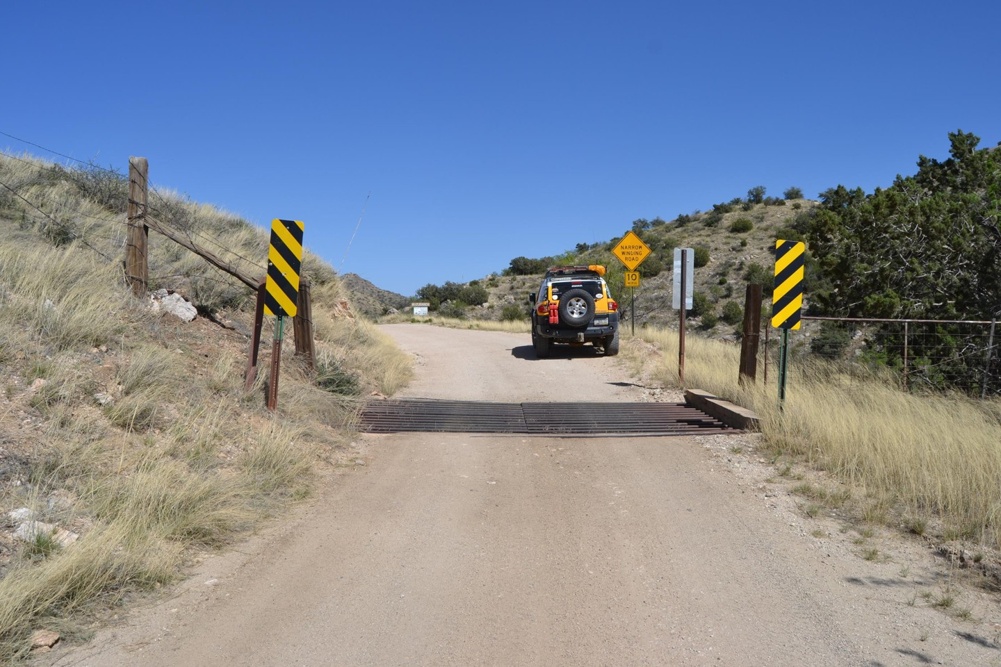 Redington Pass - Waypoint 29: A7 Ranch/US Forest Border Private/State Land/Pima(Continue Straight)