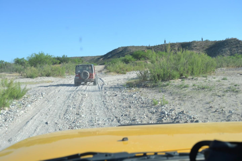Redington Pass - Waypoint 49: Edgar Canyon Wash (Continue Straight)