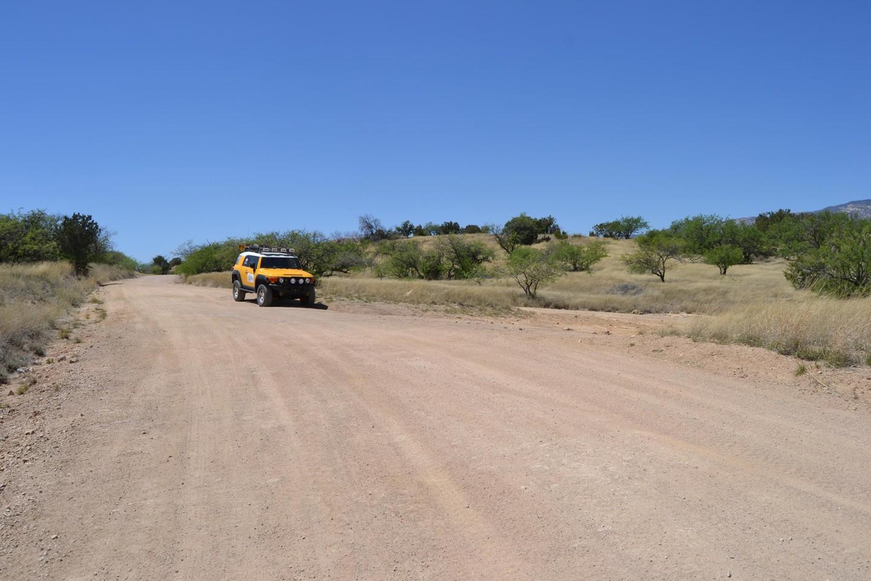 Redington Pass - Waypoint 16: Belotta Ranch Road FR#36 (Stay Right)