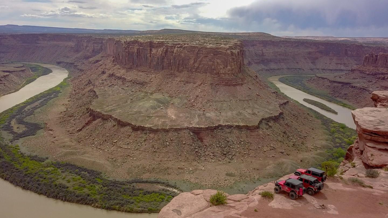 Highlight: Hellroaring Canyon North Rim Overlook