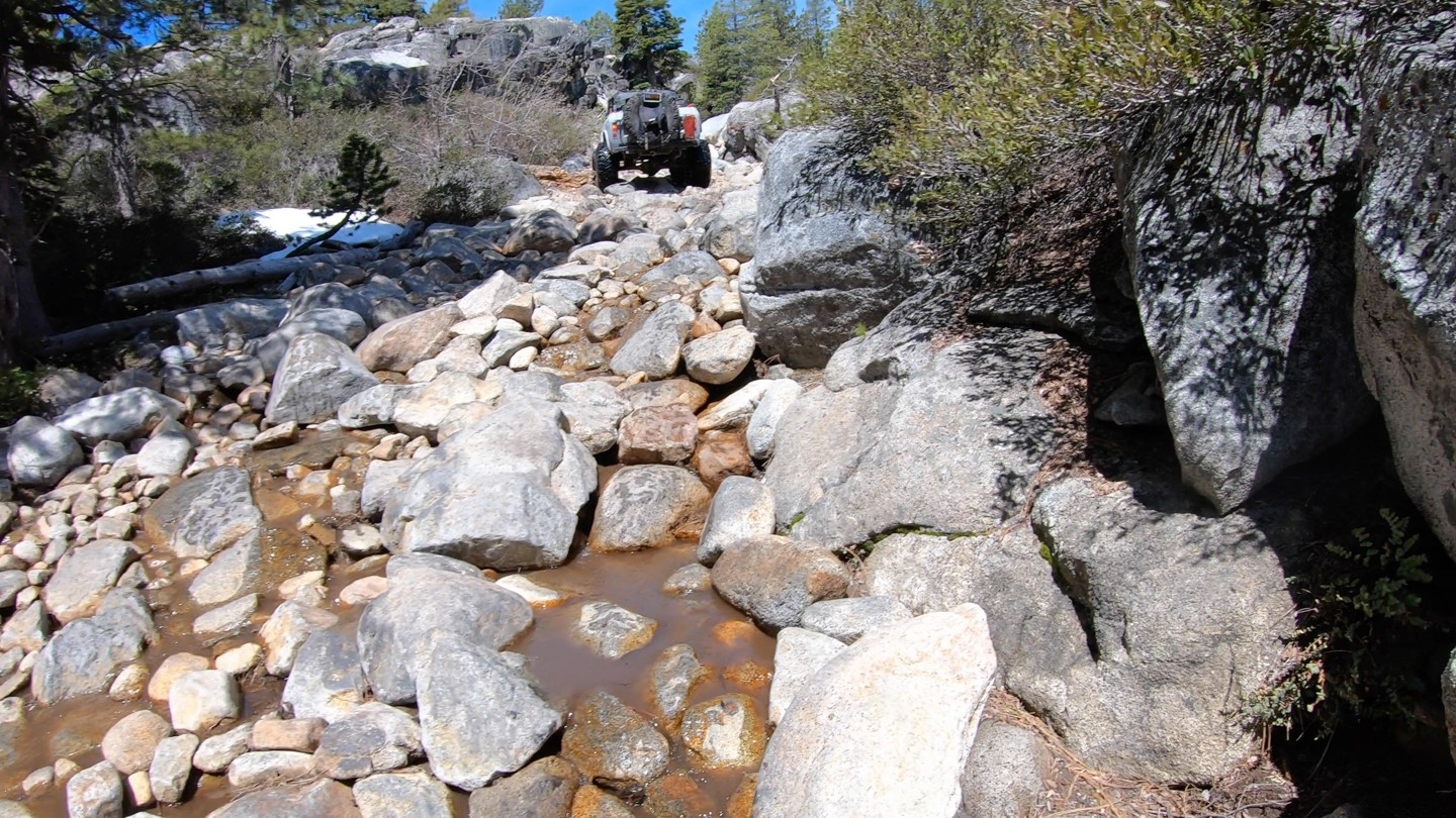 Old Sluice  - Waypoint 3: Small Rock Hill - Continue Straight