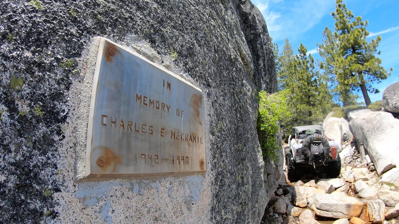 Old Sluice  - Waypoint 5: Memorial Plaque - Continue Straight