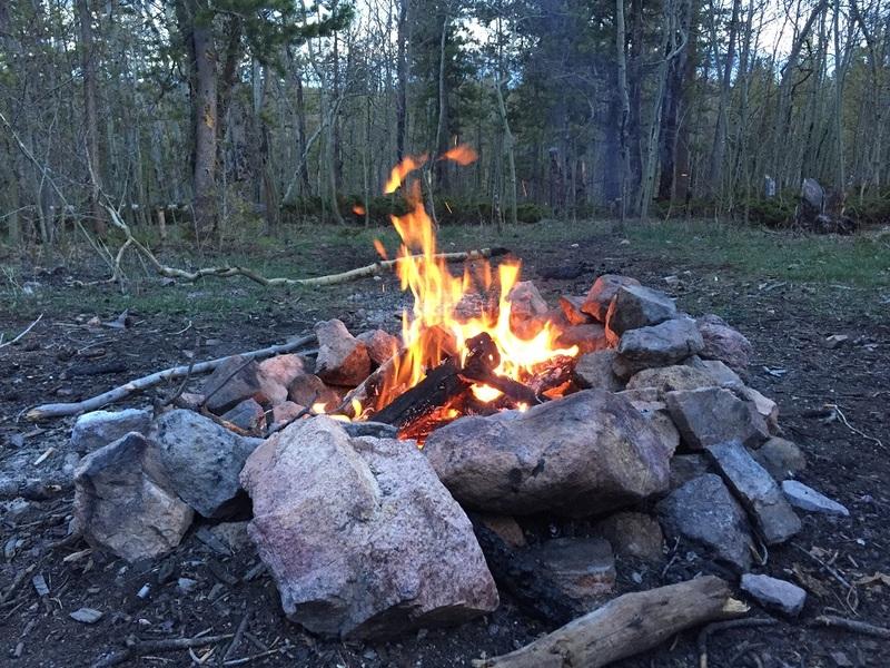 Camping: Kelly Flats