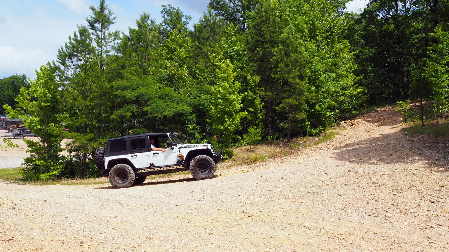 Offroad Trails in Arkansas on