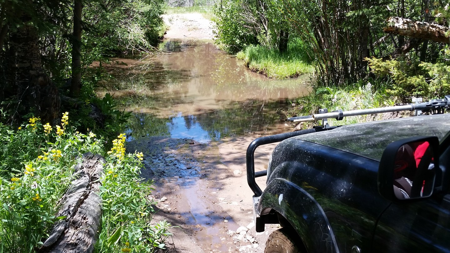 Medano Pass - Waypoint 6: Water Crossing