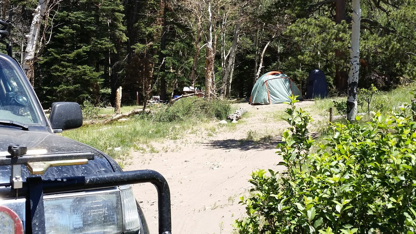 Medano Pass - Waypoint 9: Dispersed Camping 2